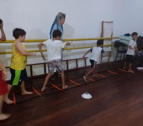 Capoeira im CENTRO LA SIESTA