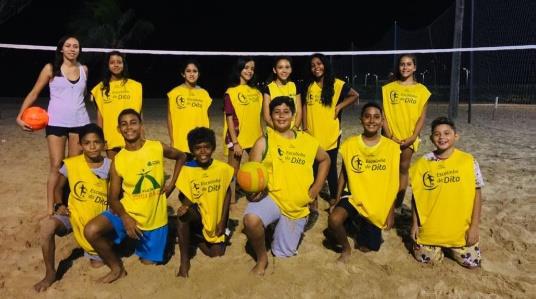 Das Beachvolleyball-Team des CENTRO LA SIESTA
